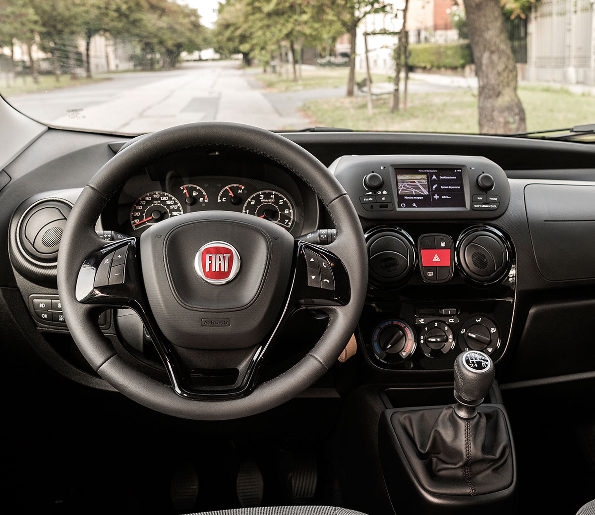 FIAT Fiorino/Qubo Multimedia And Navigation Unit
